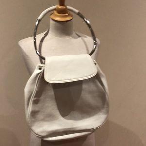 White purse STUNNING